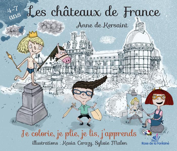 Coloriage Chateau Vaux Le Vicomte.Les Chateaux De France