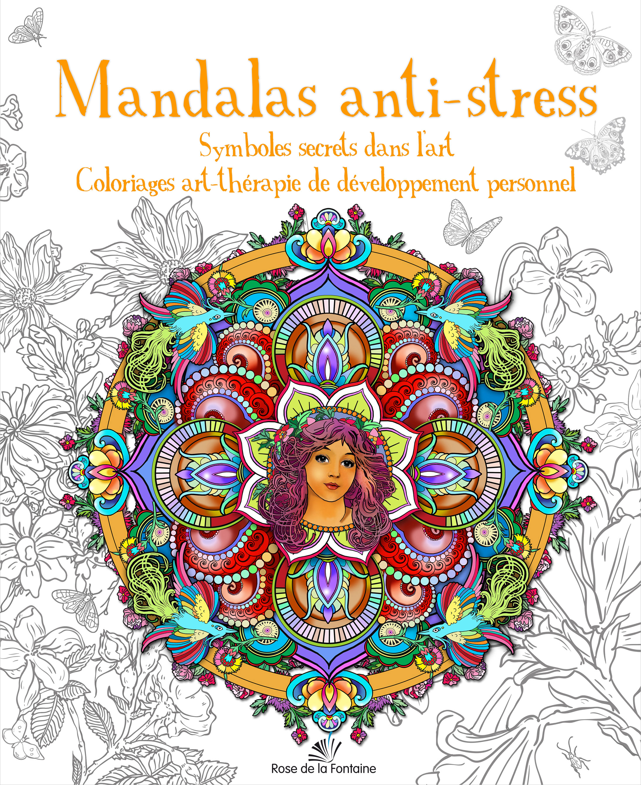 Mandalas anti stress symboles secrets dans l art coloriages art th rapie de d veloppement - Dessin anti stress mandala ...