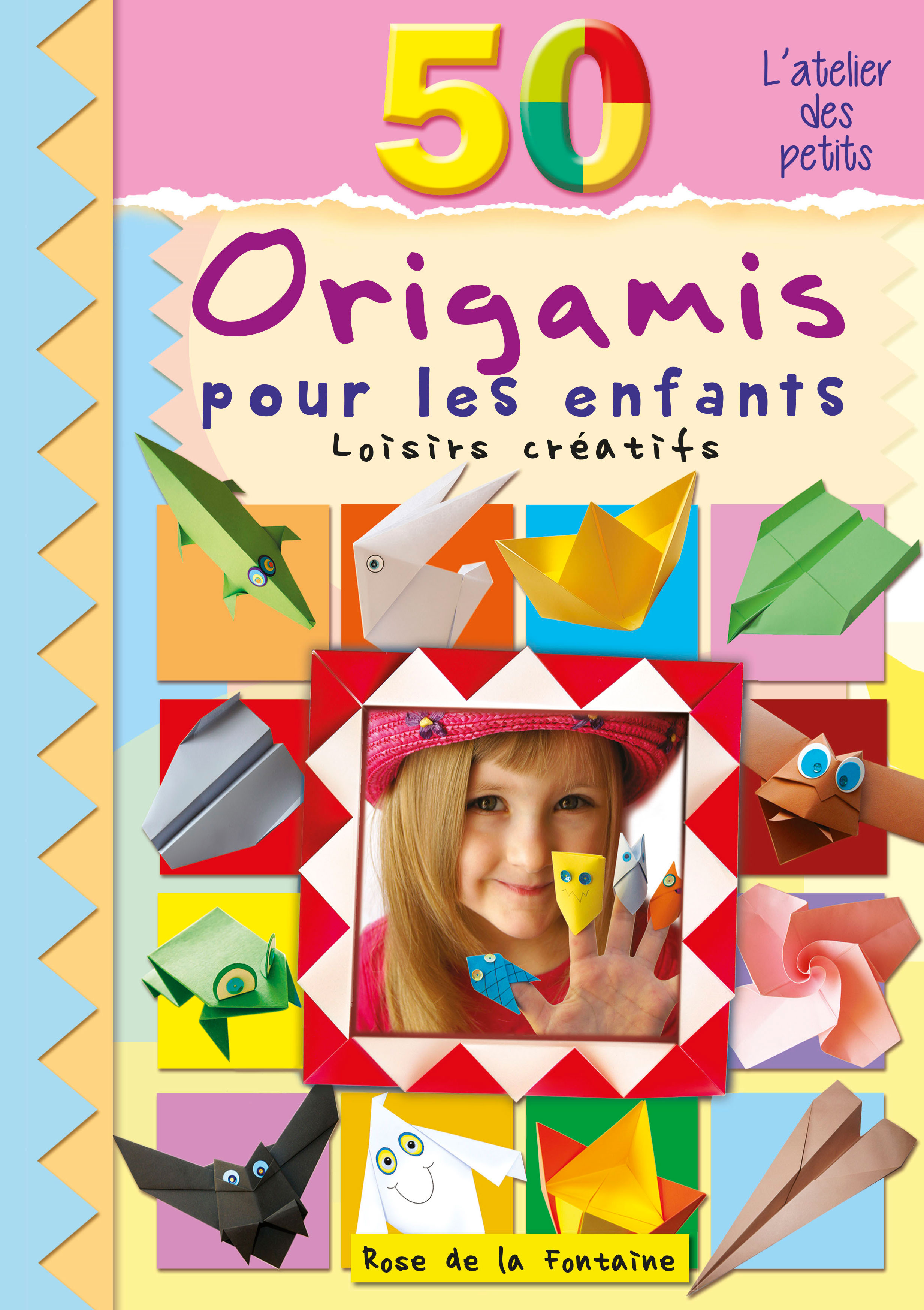 50 origamis pour les enfants. Black Bedroom Furniture Sets. Home Design Ideas